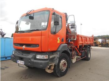 Camion benne Renault Kerax 260