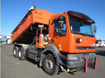Camion benne Renault Kerax 320