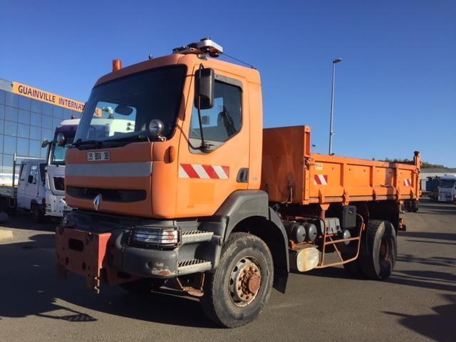 camion benne Renault Kerax 340