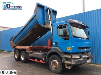 Renault Kerax 340 6x4, , Manual, Steel suspension, Airco, Hub reduction - camion benne