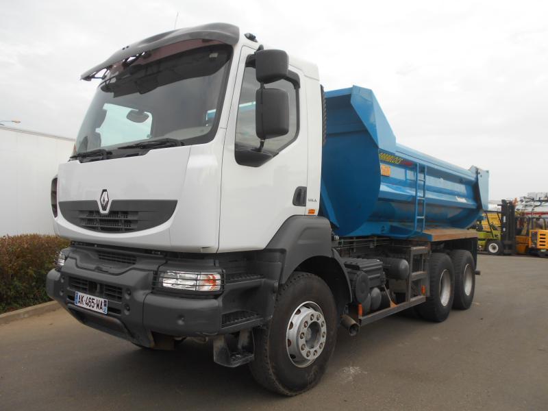 camion benne Renault Kerax 450 DXi