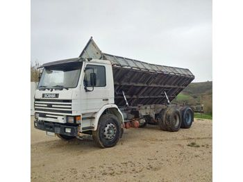 Camion benne SCANIA 92 H 280 left hand drive Intercooler 10 tyres 26 ton