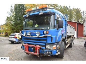 SCANIA P124 GB 6x2 Tippbil Tipp Truck - camion benne