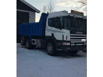 Scania 124.400 - SOON EXPECTED - 6X2 MANUAL FULL STEEL  - camion benne