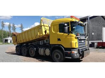 Camion benne Scania G420 8x4