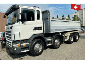 Scania G420.    8x4  - camion benne