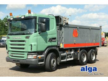 Camion benne Scania G480CB6x4, Mulde 17m³, Plane, 16-Schalter,Euro 4