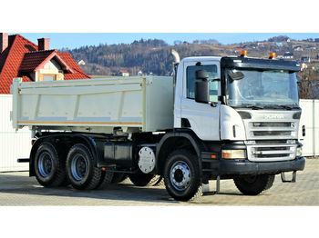 Scania P380 Kipper 5,10m + Bordmatic *6x4*Topzustand!  - camion benne