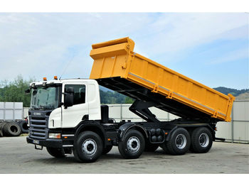 Scania P380 Kipper 6,00m + Bordmatic *8x4*Topzustand!  - camion benne