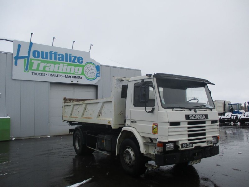 camion benne Scania P93 M - 280 - Bi-benne / 2-Side Tipper