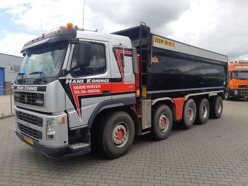 camion benne Terberg FM 2850 10x4 Kipper