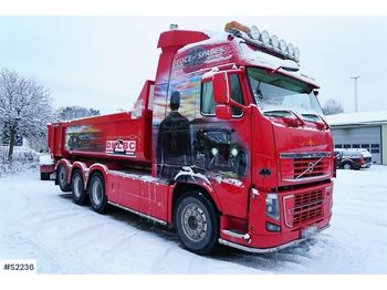 VOLVO FH16 750 8x4 with Trailer - camion benne