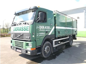 Camion benne Volvo FH12 380 tipper/benne - full steel/lames