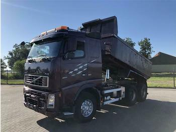 Volvo FH16.610 6X4 MANUAL FULL STEEL HUB REDUCTION EUR  - camion benne