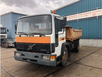 Camion benne Volvo FL614 FULL STEEL KIPPER (MANUAL GEARBOX / 6-CILINDER ENGINE / 3-WAY KIPPERBODY)