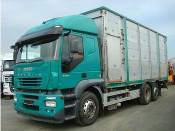 Camion bétaillère Iveco Stralis 400 - KÖPF 3-Stock Viehaufbau