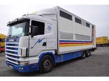 Camion bétaillère SCANIA 124 400