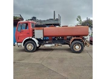 MERCEDES-BENZ 1613 left hand drive 6 cylinder 7000 litres WATER - camion citerne