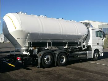 NEW MAN TGX 26.460 6x2 - SPITZER 31 m3, 4 chamber SILO NEW FOR FLOUR AND ANIMAL FOOD - camion citerne