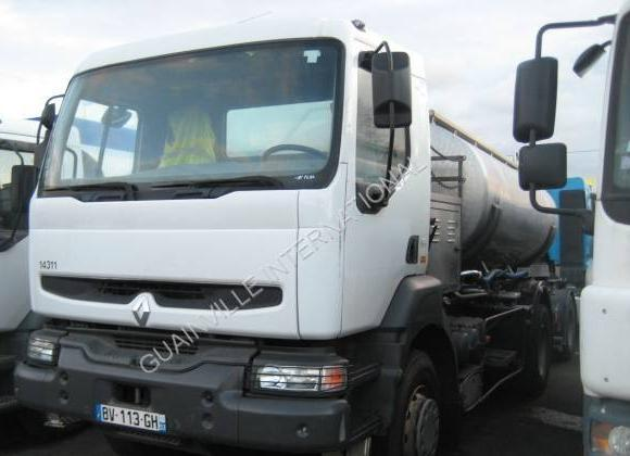 camion citerne Renault Kerax 270