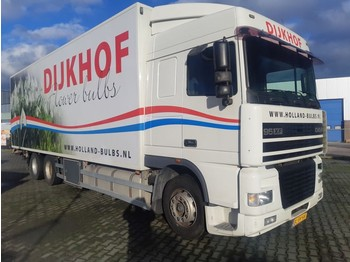 Camion fourgon DAF 95 XF 430 SC 6X2 Euro 2