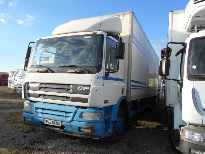 camion fourgon DAF CF75 250