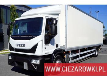 IVECO Eurocargo 120E19 , E6 , 4x2 , 21 EPAL , box 8,5m , side door , l - camion fourgon