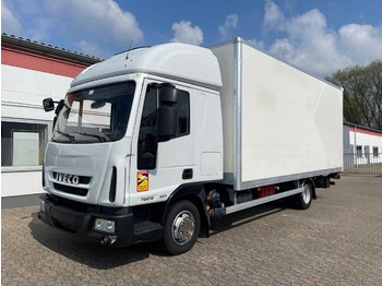 Camion fourgon Iveco ML75E18 Doppelkabine Koffer Ladebordwand 1000 kg Klima Standheizung EURO 5!
