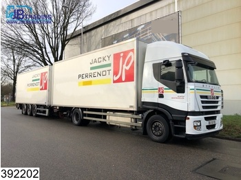 Iveco Stralis 450 AS, EURO 5 EEV, Manual, Retarder, Airco, Combi, Load-through system - camion fourgon