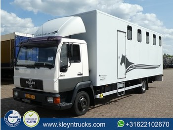 Camion fourgon MAN 9.153 horse truck