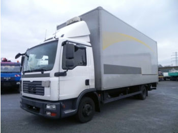 MAN TGL 12.180 (Euro4+G1) Koffer 6.8m+LBW 2 to  - camion fourgon