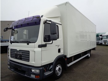 MAN TGL 12.210 + MANUAL + LIFT + EURO 4 - camion fourgon