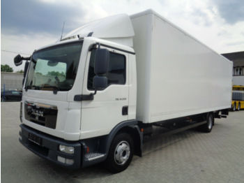 Camion fourgon MAN TGL 12.220 Koffer lang Ladebordwand hoch Euro 5