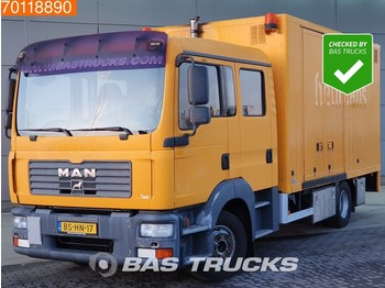 MAN TGL 12.240 4X2 Double-Cabin Ladebordwand - camion fourgon