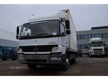 Mercedes-Benz ATEGO 1218+Box 6.2m +D'Hollandia 1500kg - camion fourgon