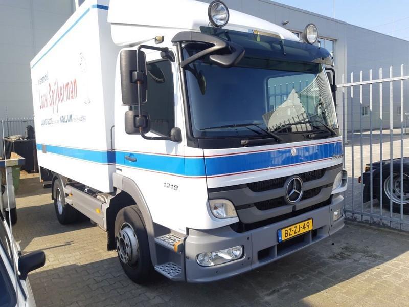 camion fourgon Mercedes-Benz ATEGO 1218 L