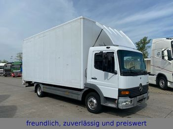 Camion fourgon Mercedes-Benz * ATEGO 818 * KOFFER * ROLLTOR * TÜV 5/ 2020 *