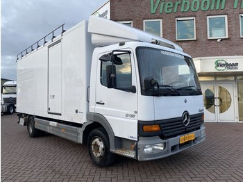 Mercedes-Benz ATEGO BOX WITH LIFT AIRCONDITIONING STEEL SUSPENSION - camion fourgon