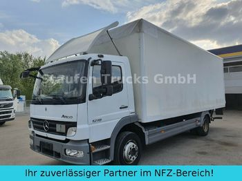 Camion fourgon Mercedes-Benz Atego 1218 L  Koffer LBW AHK  dt. Fzg TÜV 01/21