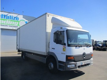 Camion fourgon Mercedes-Benz Atego 1218 full steel - manual - lames