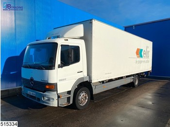 Mercedes-Benz Atego 1223 EURO 2, Manual, Steel suspension - camion fourgon