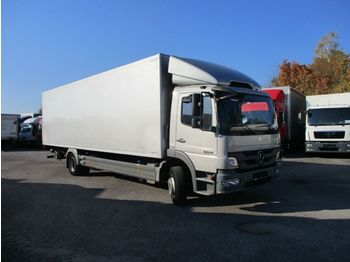 Mercedes-Benz Atego 1224 21 mit LBW  - camion fourgon