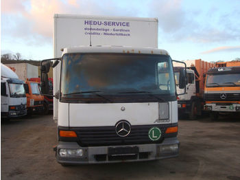 Camion fourgon Mercedes-Benz Atego 818 Ladebordwand koffer