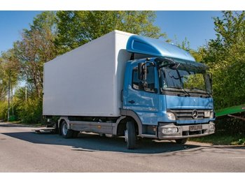 Camion fourgon Mercedes-Benz Atego klima 818 LKW Koffer m.Ladebordwand