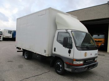 Camion fourgon Mitsubishi Canter 35S-Turbo mit Ladebordwand