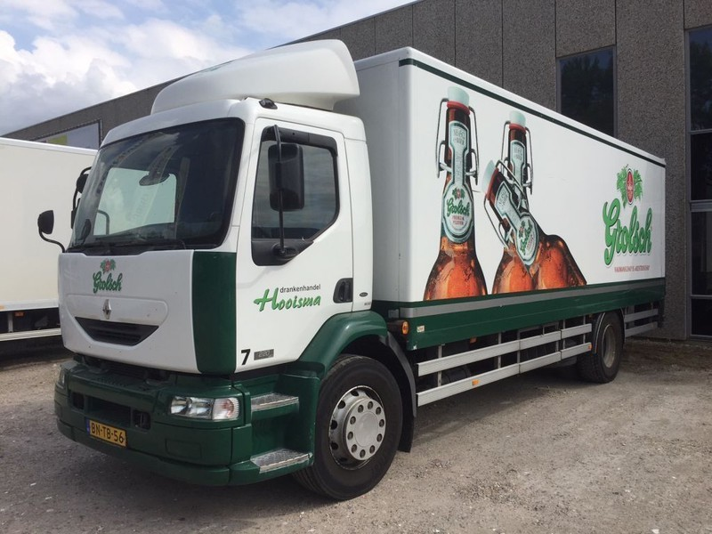 camion fourgon Renault 220 T18 Manual