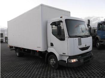 Camion fourgon Renault  Midlum 180 DCI, Koffer  mit LBW