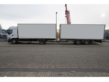Renault PREMIUM 450 dxi Closed box in combi with SAMRO Trailer - camion fourgon