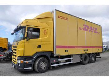 Camion fourgon SCANIA R480 6x2