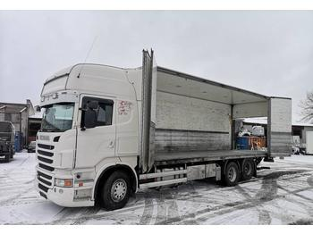 Camion fourgon Scania R480LB6X2HNB EURO 5 full side opening